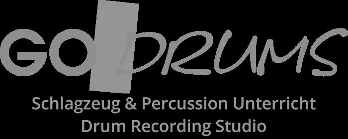 GoDrum- Logo Grau